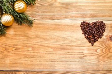 Christmas hart coffee