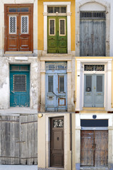 Collection of old doors.