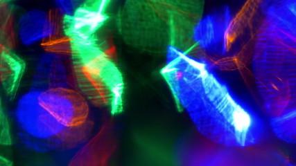 Dancing light. 3840X2160 4K UHD video