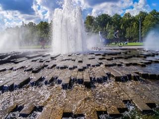 Springbrunnen vor dem Berliner Dom