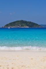White sand beach, Similan island, Thailand