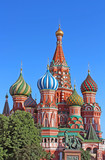 Fototapeta St. Basils cathedral on Red Square in Moscow, Russia