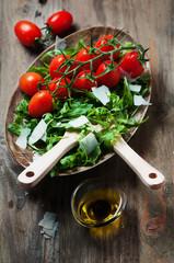 Concept of healthy italian food