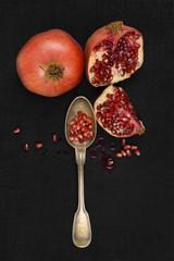 Pomegranate background.