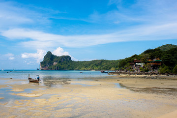 Island of Phi Phi Don in Thailand