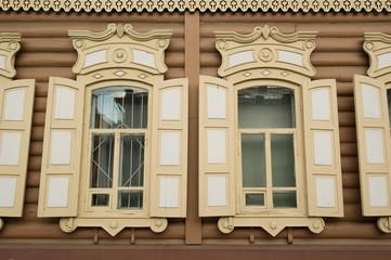 Fenster in Ulan Ude