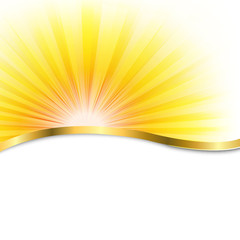 Sun Poster With Beams