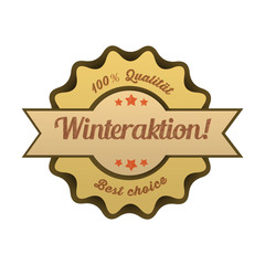 Vintage Button / Winteraktion