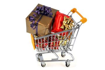 L'achat des cadeaux de Noël