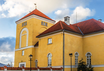 central tower of the castle of the Livonian Order