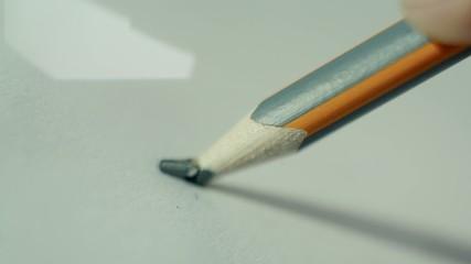 Slowmotion of pen top breaking