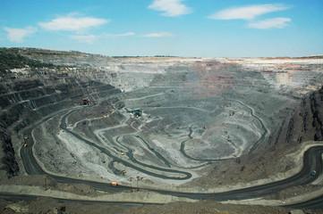 pit iron ore mining