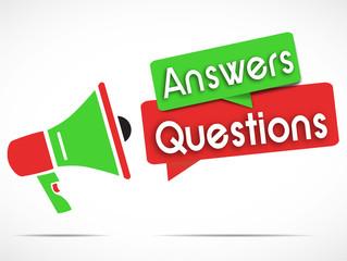 megaphone : answers questions