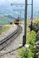 Train touristique de montagne