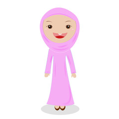 Muslim Woman on hijab.