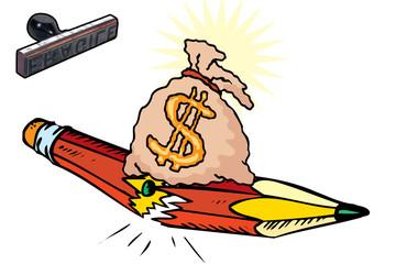 Peso della finanza