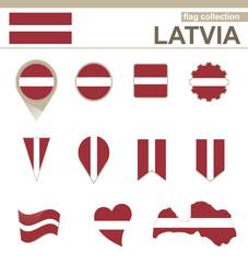 Latvia Flag Collection