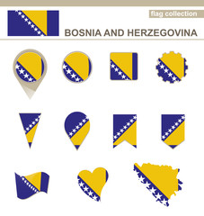 Bosnia and Herzegovina Flag Collection