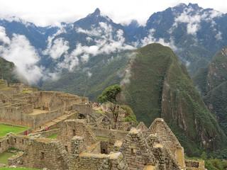 Vue du Macchu Picchu, Pérou