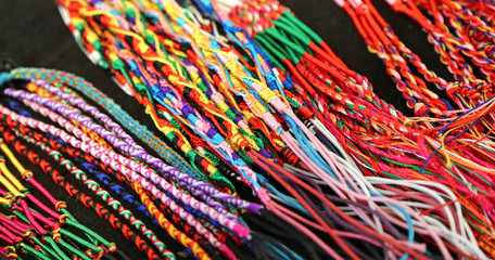 colorful bangles and necklaces wire produced by a expert craftsm
