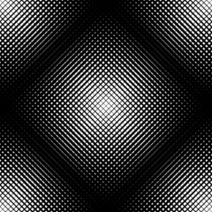 Black and white geometric seamless pattern, abstract background