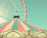 Fototapety Pastel carousel tent