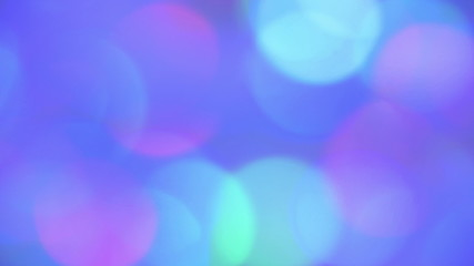Circle lights background. 4K UHD 2160p footage.