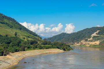 Mekong river landscape