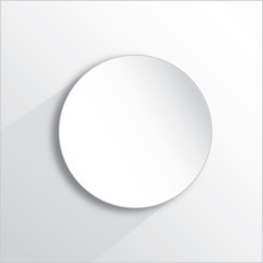 white paper button