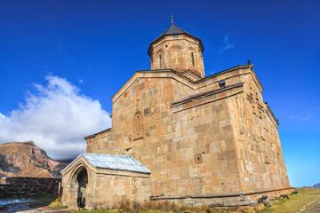 Gergeti Trinity Church on Mount Kazbek
