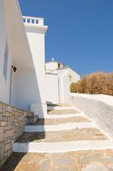 Path to church at Skopelos