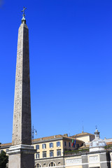 The egyptian obelisk in Piazza San Giovanni