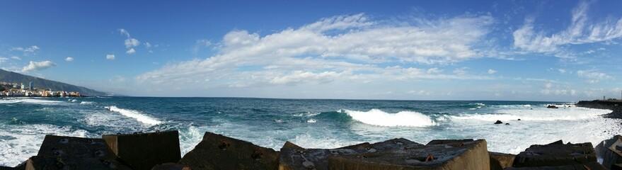 Wellenspiel Teneriffa