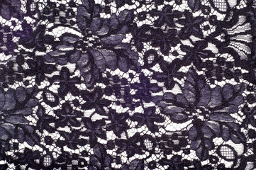 Texture . lace on the fabric