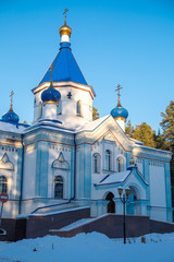 Храм Покрова Пресвятой Богородицы в городе Трёхгорный