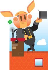 piglet is chimney sweep
