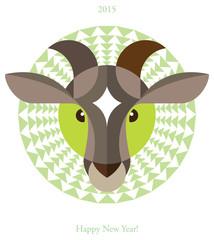 Brown goat. chinese horoscope