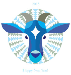 Year of the Blue Goat