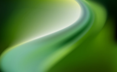 green silk background with some soft folds