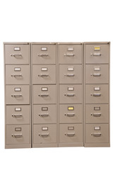 Set of Used File Cabinets