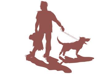 Portare a spasso il cane logo