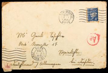 Vintage French mailing envelope