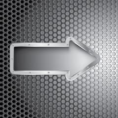 metal hole arrow