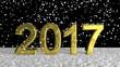 Snowfall on Golden Year 2017