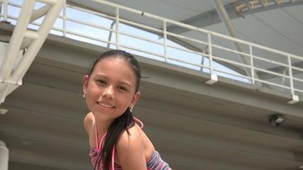 Hispanic Girl, Latin American Female