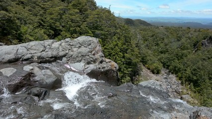 Mangawhero falls in Tongariro National Park