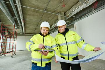 Construction builder workers