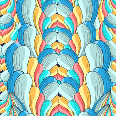 abstract multicolored pattern
