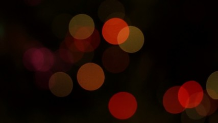 Holiday coloured lights play