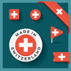 Switzerland Made Symbol Collection